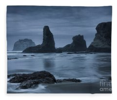 Misty Coast Fleece Blanket