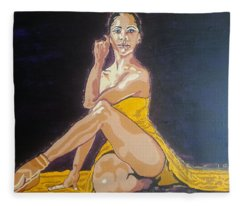Misty Copeland Fleece Blanket