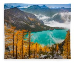 Misty Enchantments Fleece Blanket