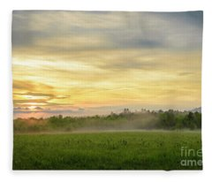 Misty Evening Fleece Blanket
