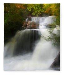 Misty Fall Fleece Blanket