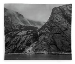 Misty Fjord Fleece Blanket