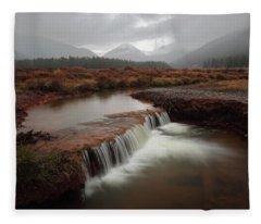 Misty Mountain Majesty  Fleece Blanket