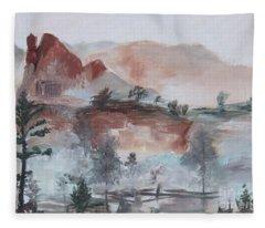 Misty Fleece Blanket