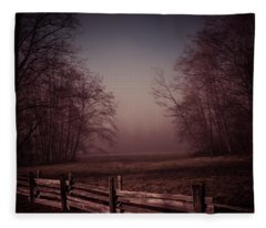 Misty Walk Fleece Blanket