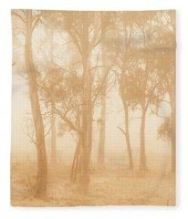 Misty Woods Fleece Blanket