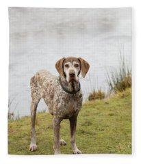 Mitch 2 Fleece Blanket