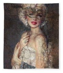 Mm Venice  Fleece Blanket