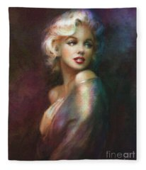 Mm Ww Colour Fleece Blanket