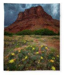 Moab Summer Storm Fleece Blanket
