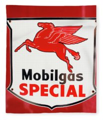 Mobilgas Vintage 82716 Fleece Blanket