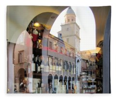 Modena, Italy Fleece Blanket