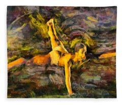 Modern Jazz Fleece Blanket
