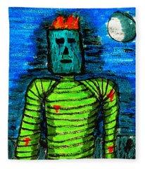Modern Prometheus Fleece Blanket