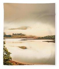 Moina Morning Fleece Blanket