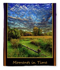 Moments In Time Fleece Blanket