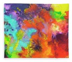 Momentum, Canvas Three Fleece Blanket