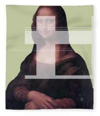 Mona 1 Fleece Blanket