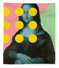 Mona 2 Fleece Blanket