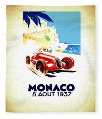 Monaco 1937 Fleece Blanket
