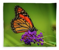Monarch #1 Fleece Blanket