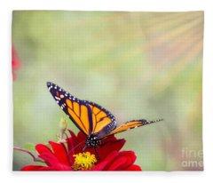 Monarch Magic Fleece Blanket