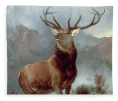 Glen Fleece Blankets