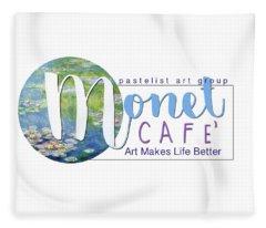 Monet Cafe' Products Fleece Blanket