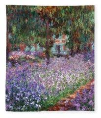 Monet: Giverny, 1900 Fleece Blanket