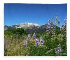 Mammoth Meadow   Fleece Blanket