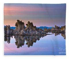 Mono Lake #2 Fleece Blanket