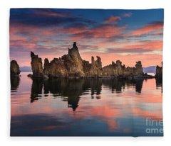 Mono Lake Fleece Blanket
