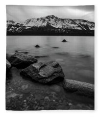 Monochromatic Dream By Brad Scott Fleece Blanket