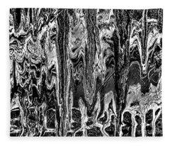 Monochromatic In Motion Fleece Blanket