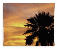 Monsoon Sunsets 2018 Fleece Blanket