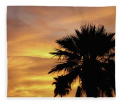 Monsoon Sunsets 2018 Fleece Blanket