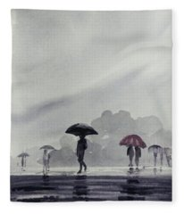 Monsoons Fleece Blanket