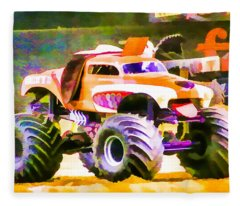 Monster Mutt Fleece Blanket