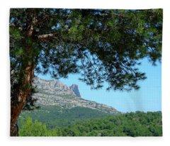 Mont Puget Marseille Fleece Blanket