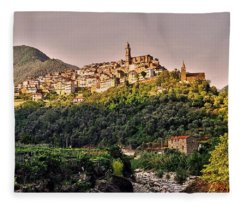 Montalto Ligure - Italy Fleece Blanket