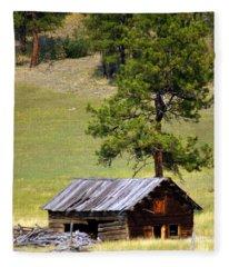 Montana Ranch 2 Fleece Blanket