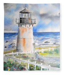 Montara Lighthouse Fleece Blanket