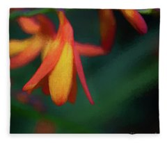 Montbretia Fleece Blanket