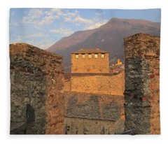 Montebello - Bellinzona, Switzerland Fleece Blanket
