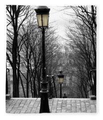 Montmartre Fleece Blanket