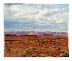 Monument Valley, Utah Fleece Blanket