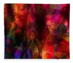 Moods In Abstract Fleece Blanket