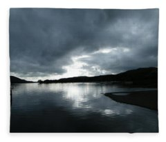 Moody Sky Fleece Blanket