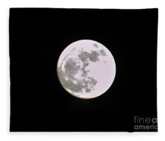 Moon Fleece Blanket