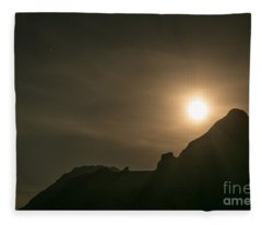 Moon Rising Fleece Blanket